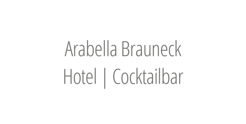 Arabella Brauneck Hotel | Cocktailbar