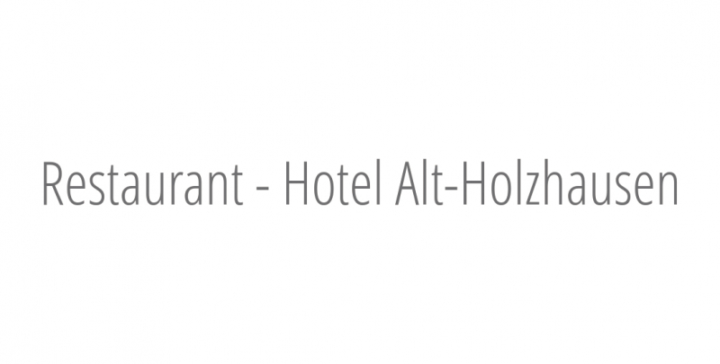 Restaurant - Hotel Alt-Holzhausen