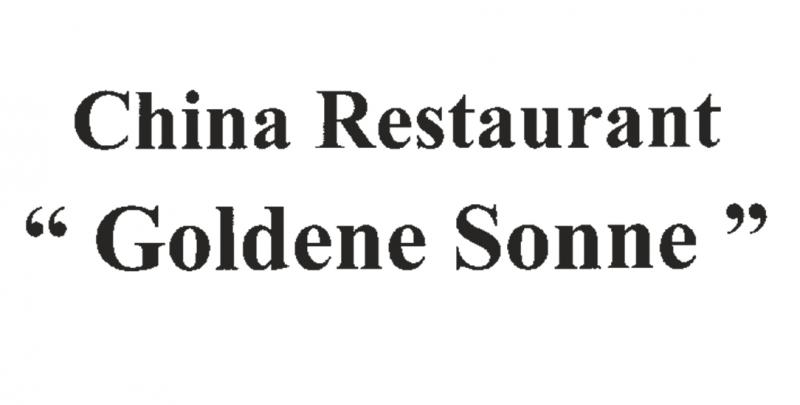 China-Restaurant Goldene Sonne