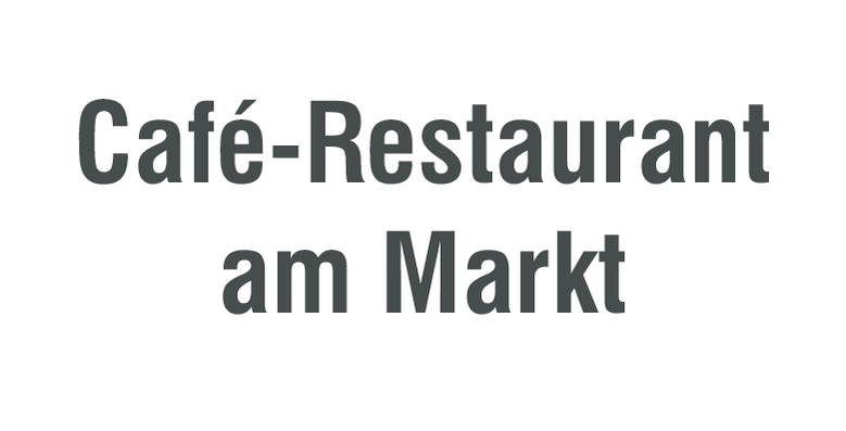 Café-Restaurant am Markt
