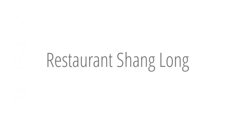 Restaurant Shang Long