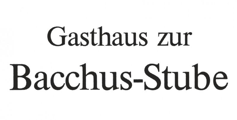 Gasthaus Zur Bacchus-Stube