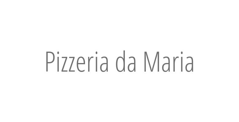 Pizzeria da Maria