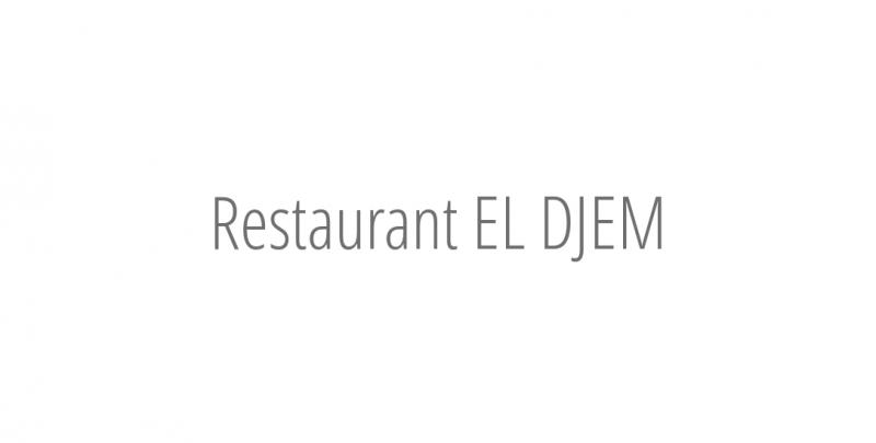 Restaurant EL DJEM