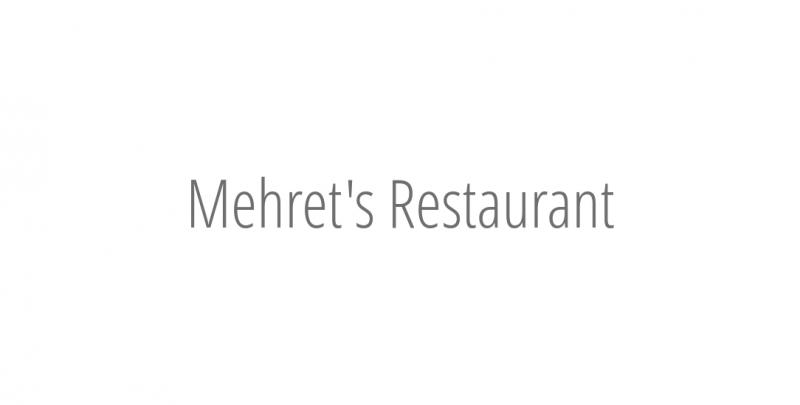 Mehret's Restaurant