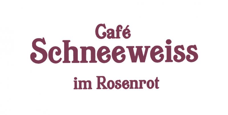 Café Schneeweiss im Rosenrot