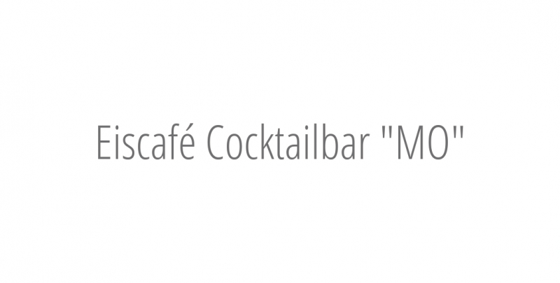 Eiscafé Cocktailbar